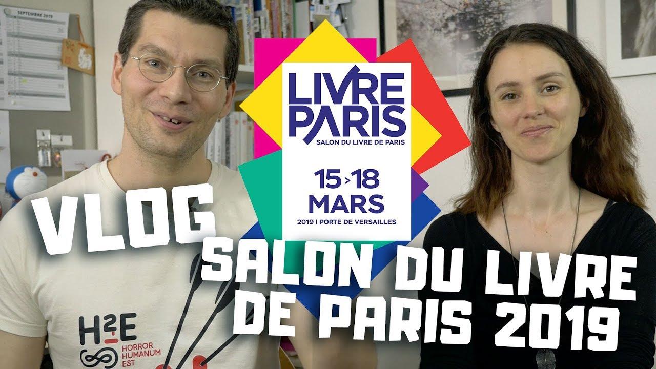 Vlog - Issekinicho au salon du livre de Paris 2019