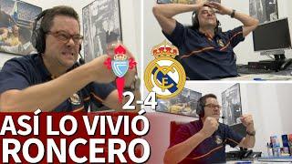 Celta 2-4 Real Madrid | Roncero vibró con el Madrid: su reacción con Benzema es oro puro | Diario AS
