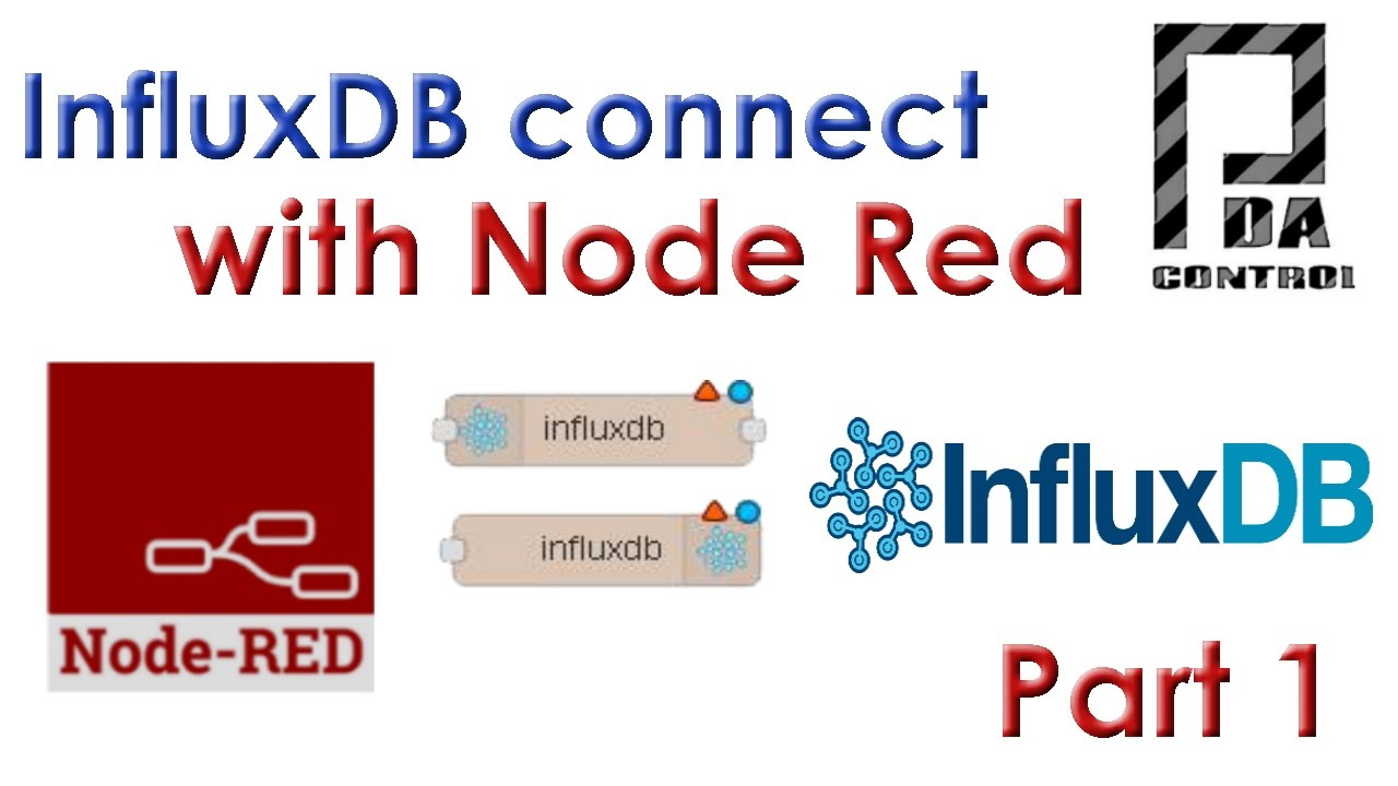 InfluxDB Database in Node-RED : PDAControl