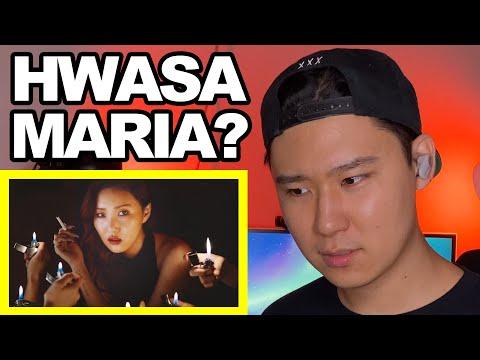 Hwasa(화사) - Maria(마리아) MV [KOREAN REACTION]