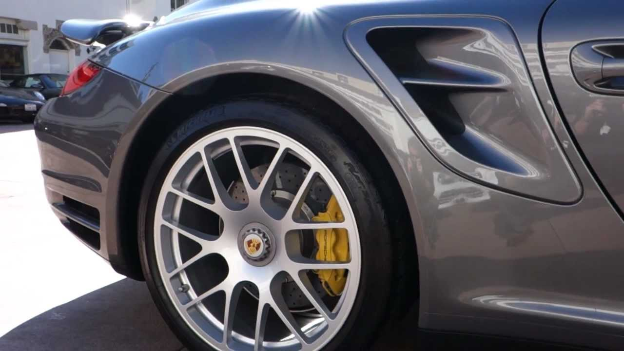2011 porsche 911 turbo s cabriolet for sale meteor grey with black pdk pccb 139 988 youtube. Black Bedroom Furniture Sets. Home Design Ideas