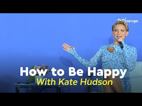 How to Be Happy: Featuring Kate Hudson