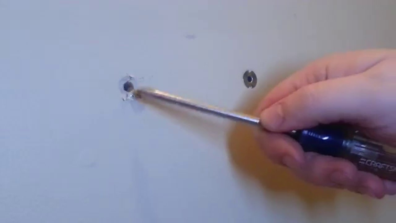 Removing Drywall Anchors Youtube
