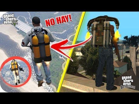 5 Razones Por Las Que GTA V No SUPERO A GTA San Andreas (GTA SA: El Mejor Grand Theft Auto) LOQUENDO
