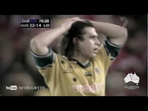 Wallabies Heroes 2001 Lions Series - George Smith