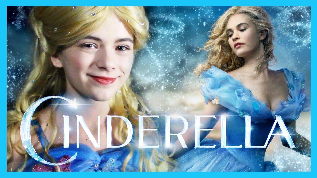 Cinderella Makeup Tutorial! | Disney Cinderella 2015 | Costume Cosplay Makeup | KittiesMama - YouTube