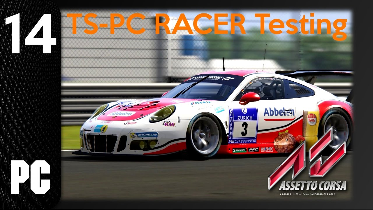 assetto corsa 14 ts pc racer testing 1440p 60fps pc no commentay youtube. Black Bedroom Furniture Sets. Home Design Ideas