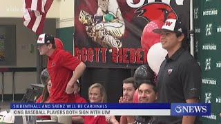 King baseball signings with Incarnate Word - 3Sports