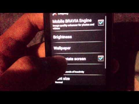 Sony Ericsson Xperia Mini Pro Android 4.0 ICS