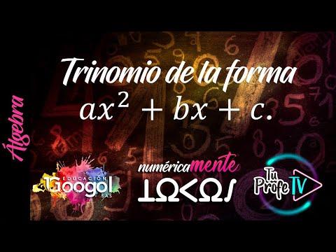 Factorización; Trinomio De La Forma A𝒙^𝟐+bx+c (Clase 50)