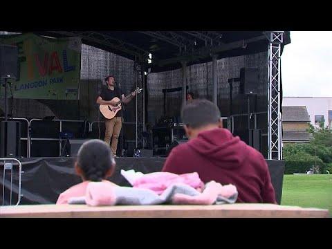 مهرجانٌ موسيقي في لندن لتشجّيع السكّان على تلقي لقاح كوفيد-19…  - 13:54-2021 / 8 / 1