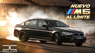 BMW M5 2018 AL LÍMITE! YO CONDUZCO | test EXTREMO | REVIEW en español | Dani Clos