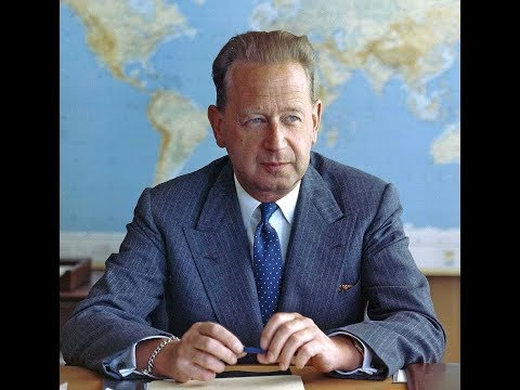 The CIA was behind the assassination of UN Secretary General Dag Hammarskjold