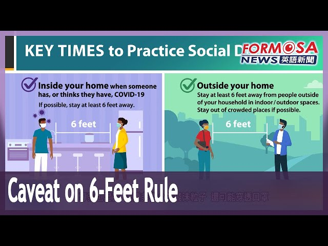 US CDC warns 6 feet of social distance may not be enough