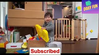 Japanese mother leaves a cardboard cut out of herself in her toddler's room to stop him from crying