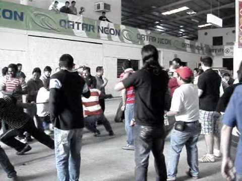 qatar neon party 2009
