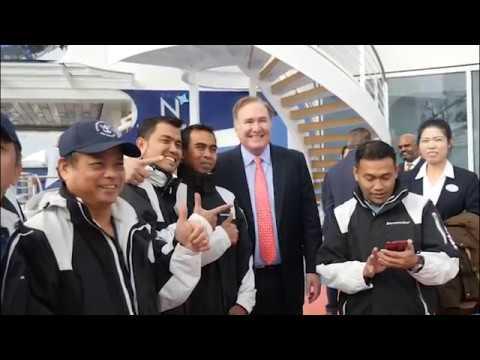 El 'Spectrum of The Seas' ya Navega Hacia China