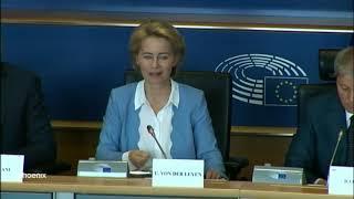 Statement von Ursula von der Leyen vor der liberalen Fraktion im EU-Parlament am 10.07.19