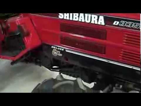 ΤΡΑΚΤΕΡ ΜΕΤΑΧΕΙΡΙΣΜΕΝΟ Shibaura D335F