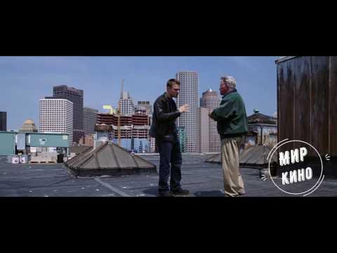 Перепалка на крыше HD - Отступники (2006)