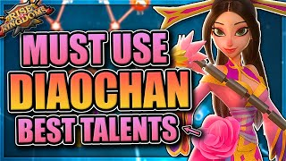 Diaochan pairings and talents [highest damage EPIC in Rise of Kingdoms]