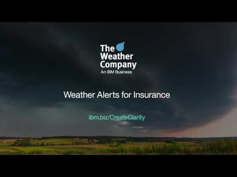 Dayhuff Group and The Weather Company an IBM Business introduce Weather Alerts for Insurance