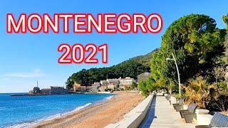 Черногория 2021 Петровац в январе