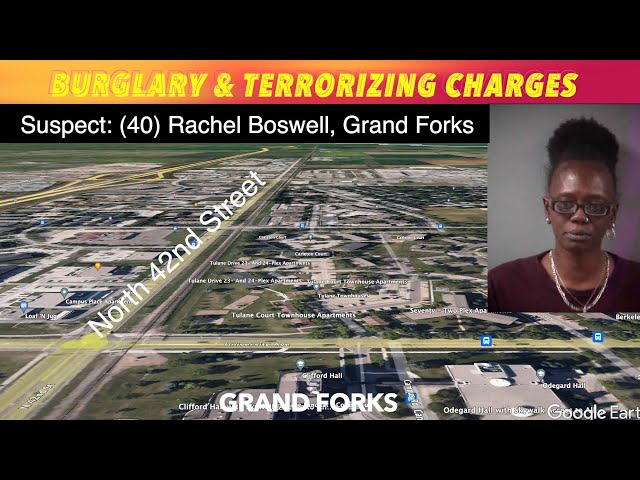 Grand Forks Woman Facing Burglary & Terrorizing Charges