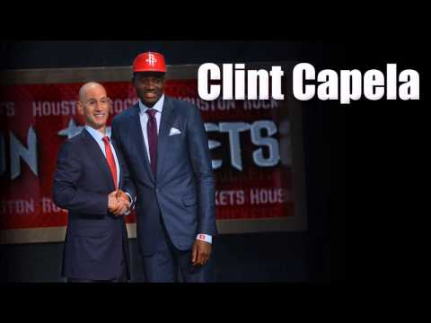 Clint Capela Interview after being drafted by the Houston Rockets