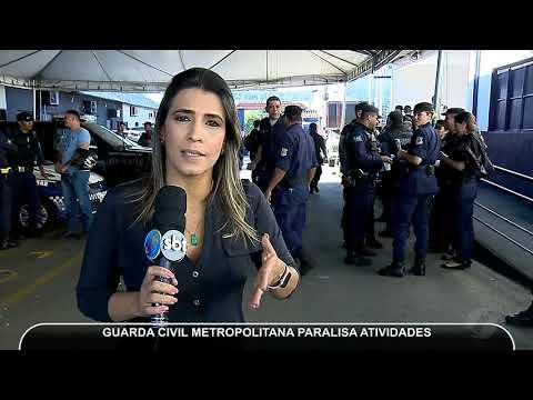 JMD (13/06/18) - Guarda Civil Metropolitana Paralisa Atividades