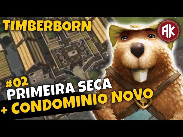 CONDOMÍNIO para os CASTORES - EP02 - Timberborn