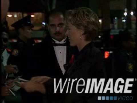 Ellen Degeneres Post Emmy Awards 1994 - Signing autos - talking to the press -