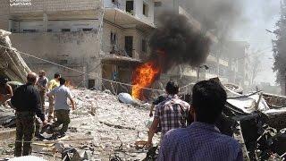 ناشطون سوريون: قتلى بغارة روسية على دوما