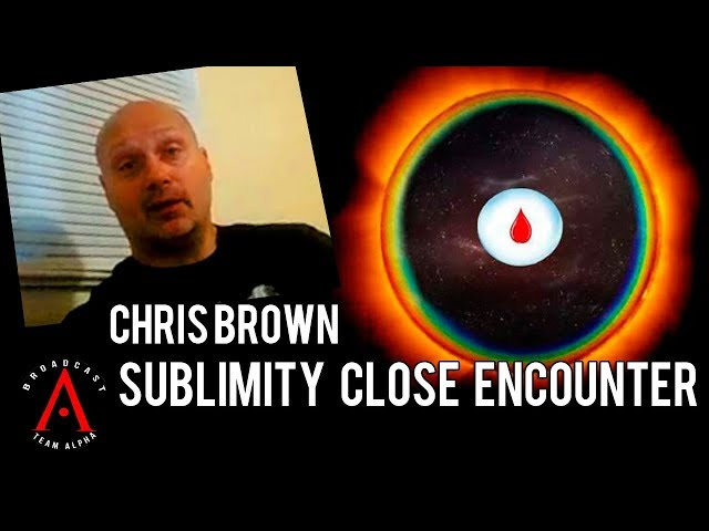 Chris Brown - Sublimity Close Encounter - Giant UFO & Orb Encounter in Sublimity Oregon