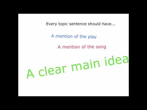 macbeth theme song essay topic sentences  macbeth theme song essay topic sentences