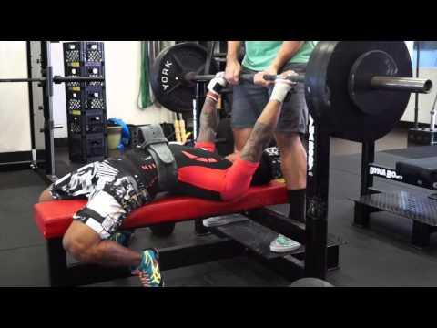 benching-at-california-elite-training-center