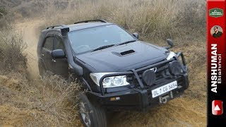 Ironman Fortuner & Thar CRDe with MLD: Climb and Descent. 25 12 2016