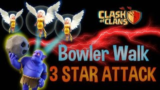 Awesome 3 star attack | Max Valkyrie, Healers, Level 2 Bowlers and 1 Golem | Clash of Clans