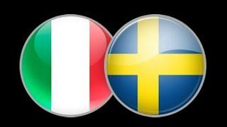 Италия - Швеция 13.11.2017 превью матча и прогноз