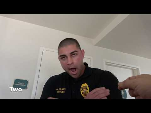 Officer Gets Educated, But Too Sleepy To Comprehend