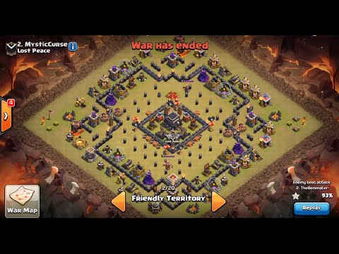 Base War Th 9 Anti 2 Star 6