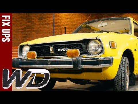 Edd Transforms 1970s Honda CVCC  Wheeler Dealers