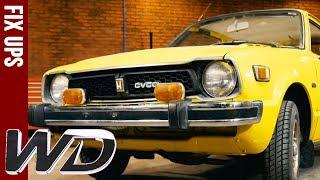 Edd Transforms 1970s Honda CVCC | Wheeler Dealers