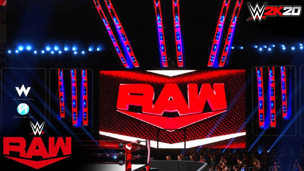 New RAW Arena on WWE 2K20 (PS4) w/Nation Studios