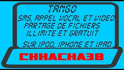 Tango : Envoyer des SMS, appel vocal et vidéo et partager vos fichiers gratuitement