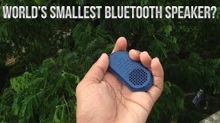 World's Smallest Bluetooth Speaker? Tadpole Active Review