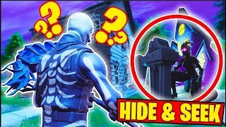 HALLOWEEN HIDE AND SEEK IS HERE! - Fortnite Battle Royale