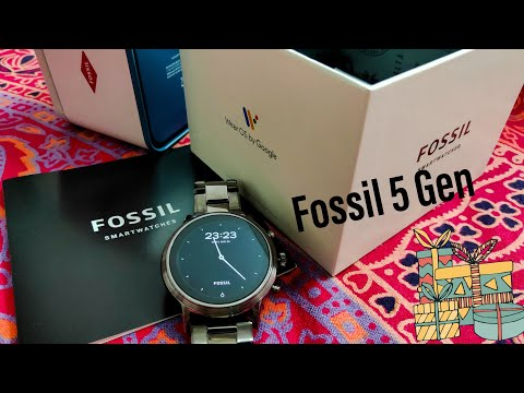 Fossil Smartwatch Gen 5 Complete Review | First Review In India 🔥🔥🔥