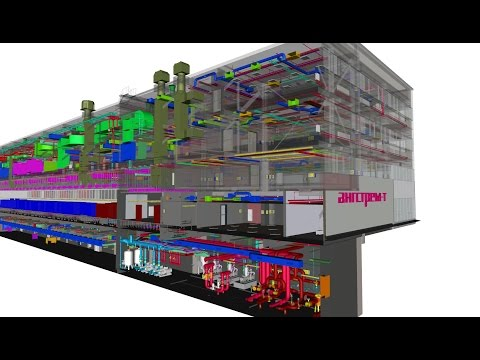 The as-Built 3D Information Model of the Angstrem-T Submicron Semiconductor Manufacturing Foundry