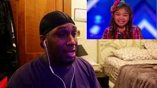 Angelica Hale  Future Star STUNS The Crowd  Auditions 2   America's Got Talent 2017 REACTION